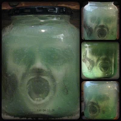picture relating to Head in a Jar Printable identify 21 Spooky Specimen Jar Tutorials Idea Junkie