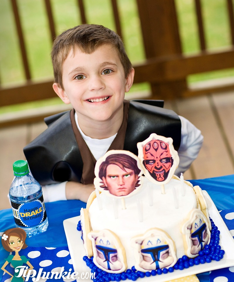 Star Wars Birthday Cake for Boys