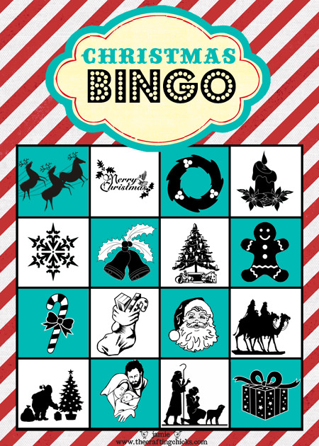 Printable Christmas Bingo