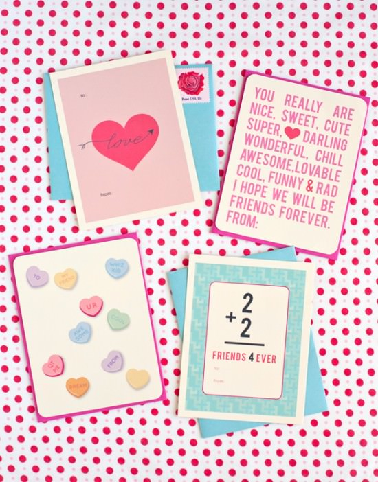 graphic regarding Funny Printable Valentines Cards titled 30 No cost Printable Valentines Working day Playing cards Idea Junkie