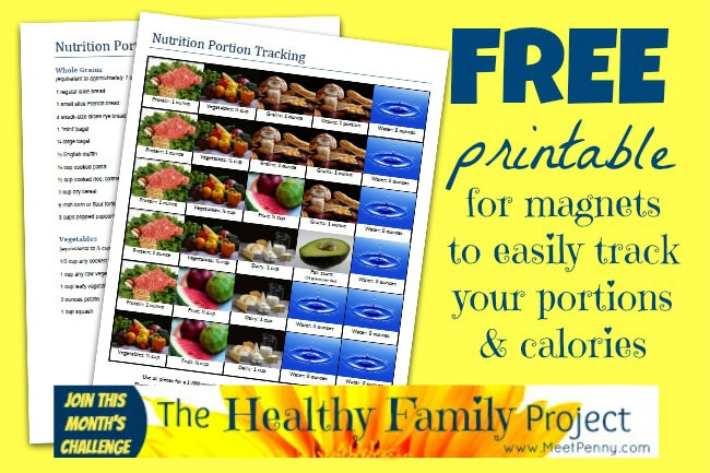 free printable nutrition diet calorie tracker