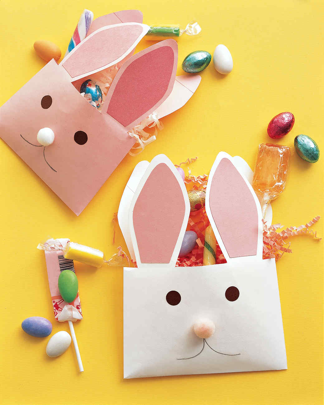 Easter Bunny Envelope Template