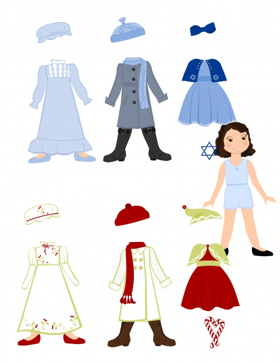 graphic regarding Paper Doll Clothes Printable named 41 Totally free Paper Doll and Printable Gown Ups Idea Junkie