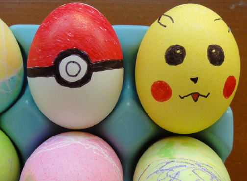 Pokemon Easter Eggs