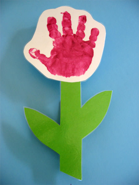 Handprint Gift for Mom