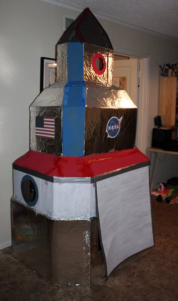 DIY Rocket Ship