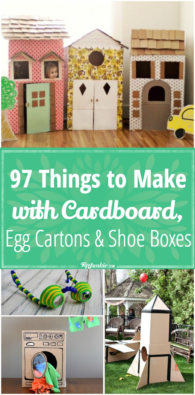 97 Things to Make with Cardboard, Egg Cartons & Shoe Boxes