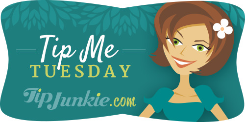 Tip Me Tuesday Linky Party on Tip Junkie