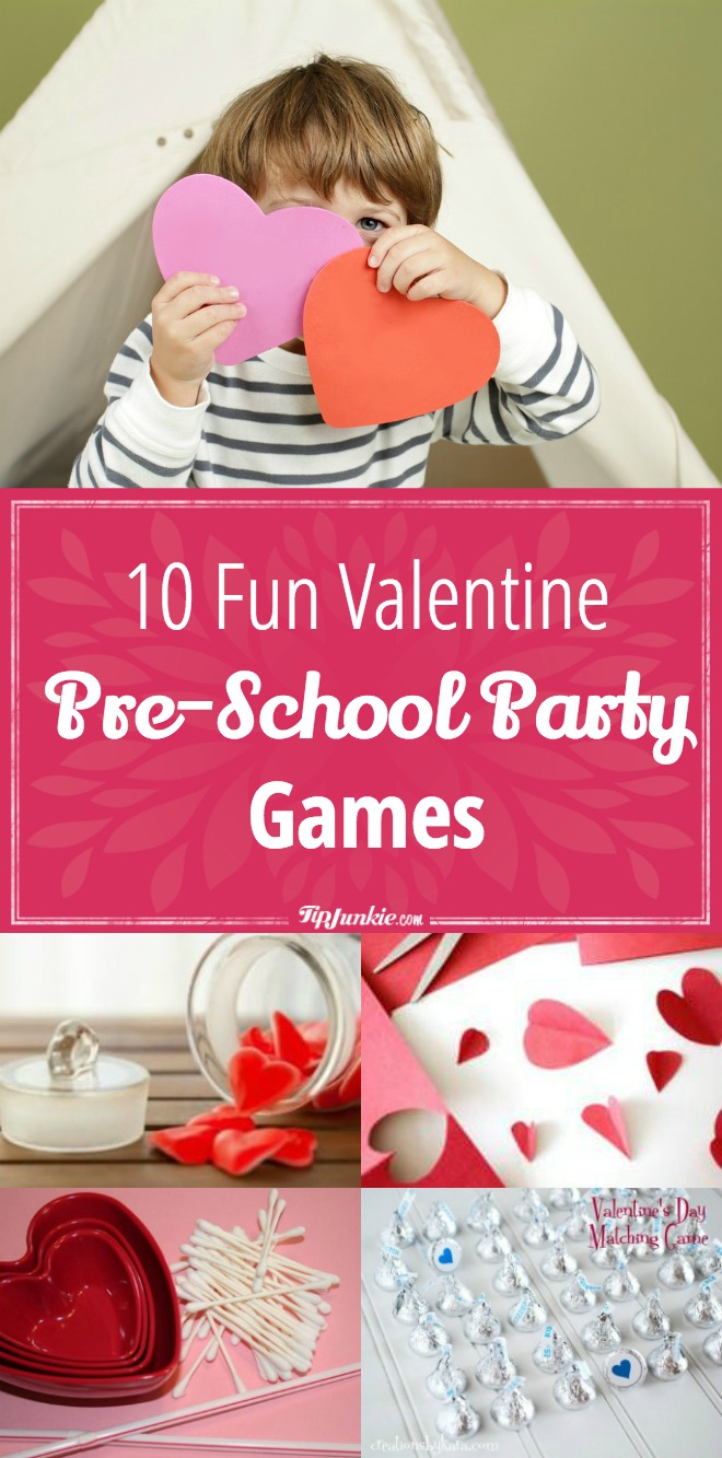 10 Fun Valentine Pre-School Party Games