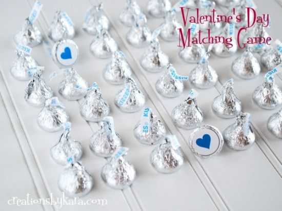 valentine matching game