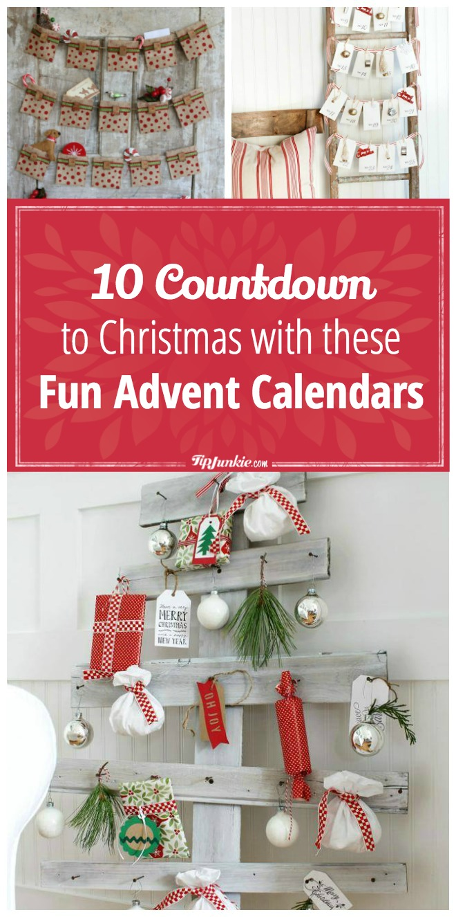 10 countdown to christmas advent calendars