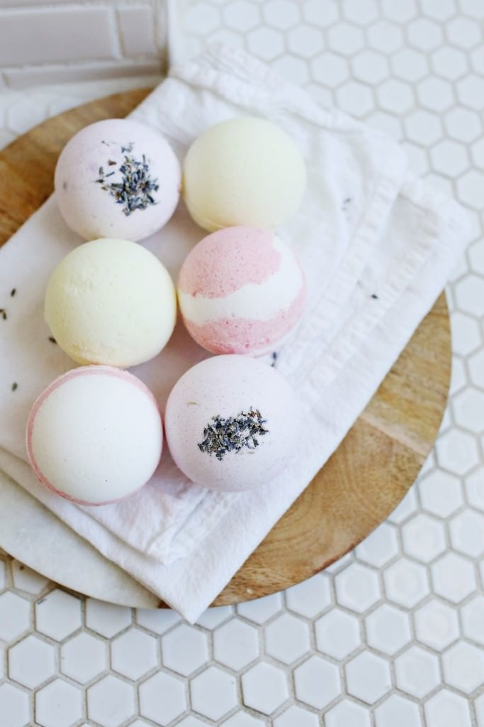 diy homemade bath bombs