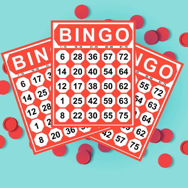 image about Bingo Chips Printable named 49 Printable Bingo Card Templates Idea Junkie