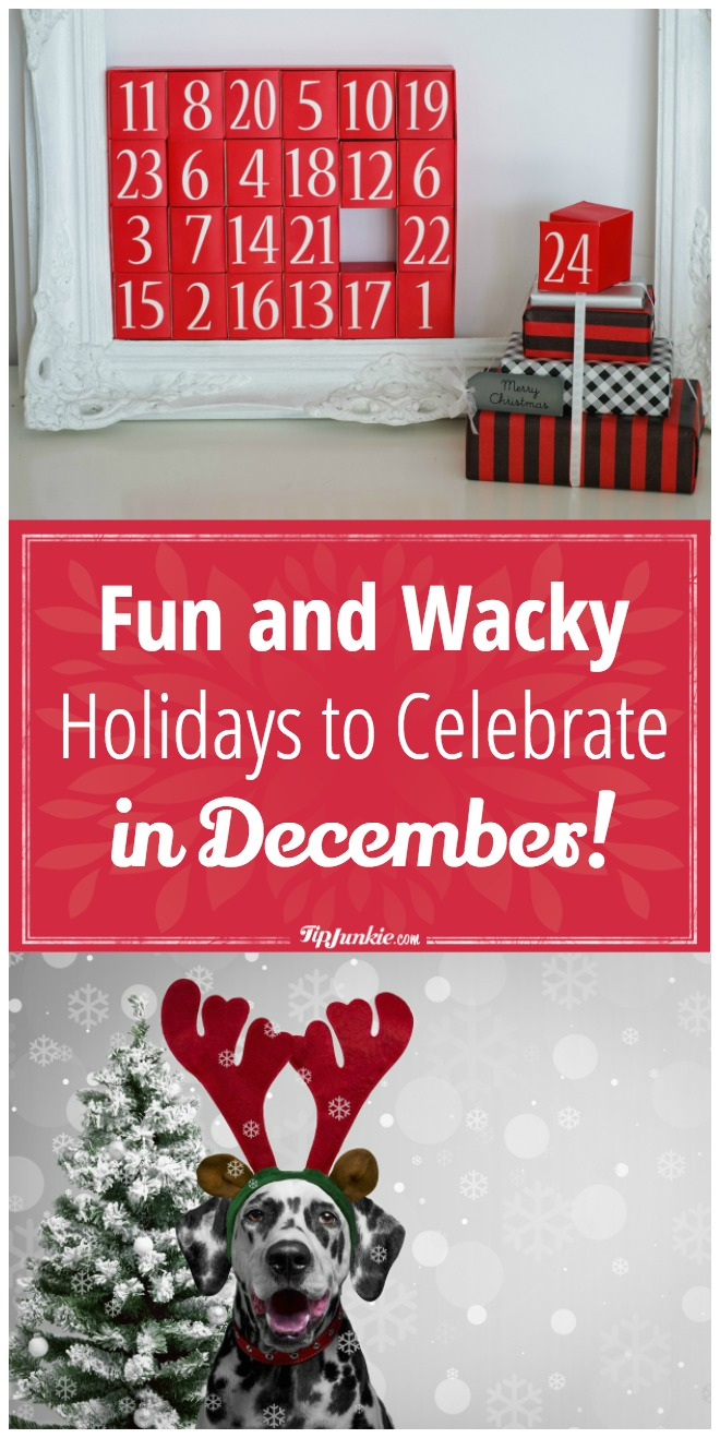 fun and wacky holidays to celebrate in December