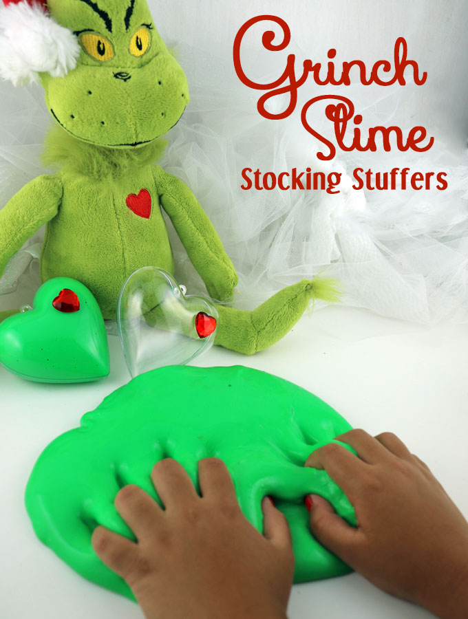 grinch slime stocking stuffer