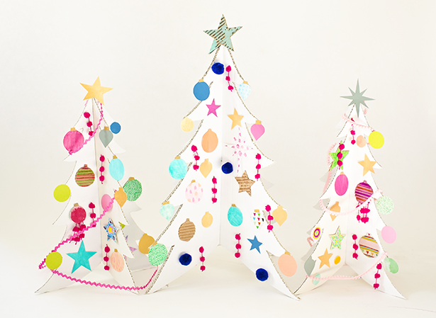 easy paper christmas ornaments