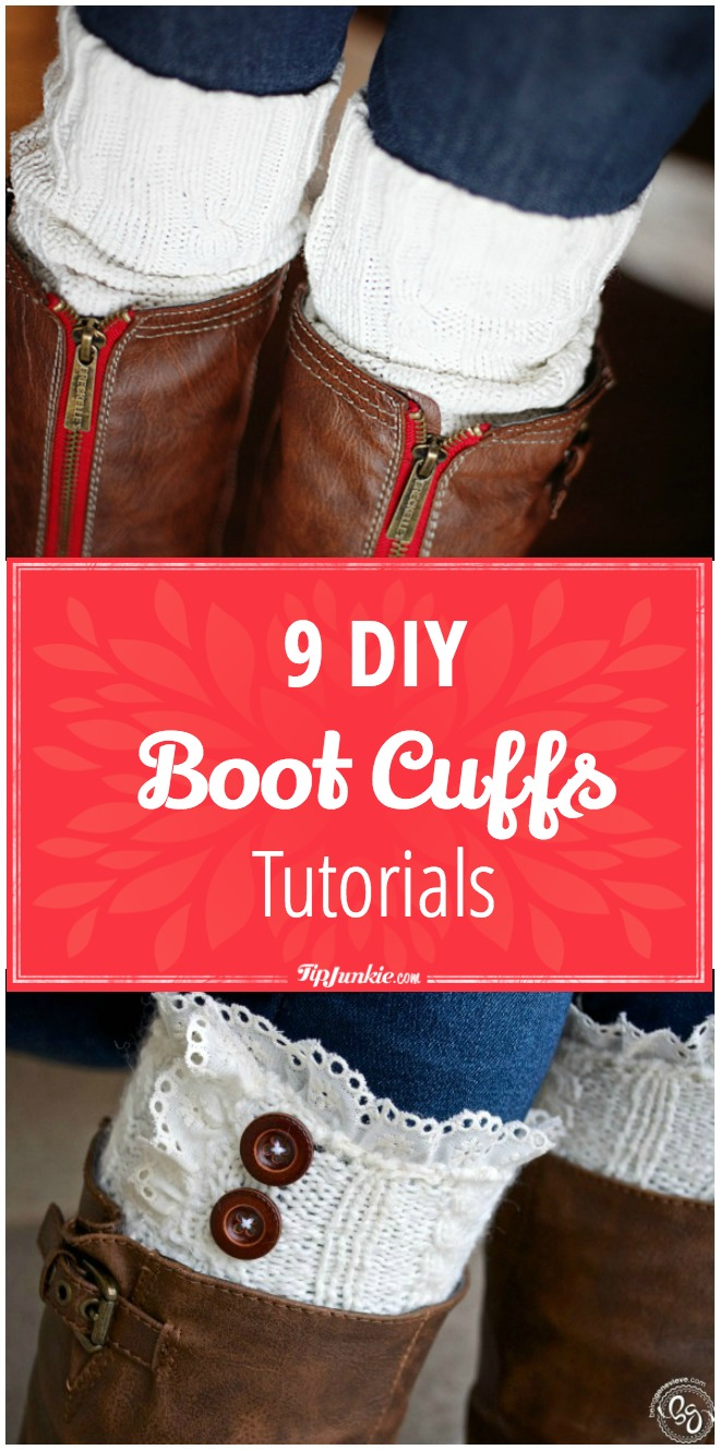 9 DIY Boot Cuffs Tutorials