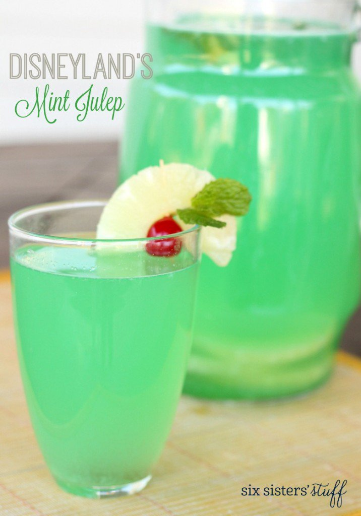 disneylands mint julep
