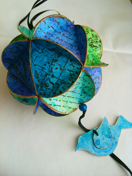 geodisk paper ornament