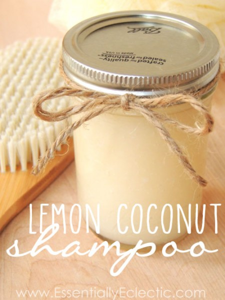 lemon coconut shampoo