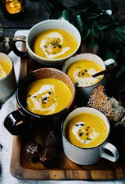 roasted chestnut soup