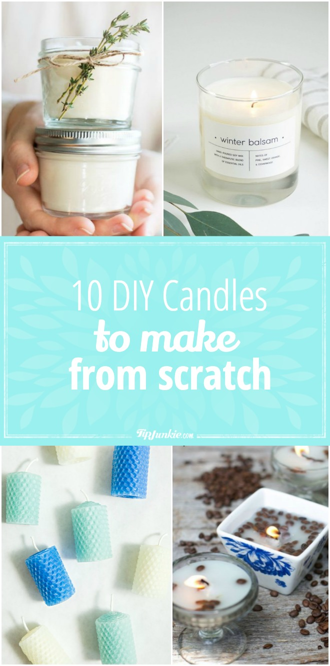 10 DIY Candles to Make from Scratch