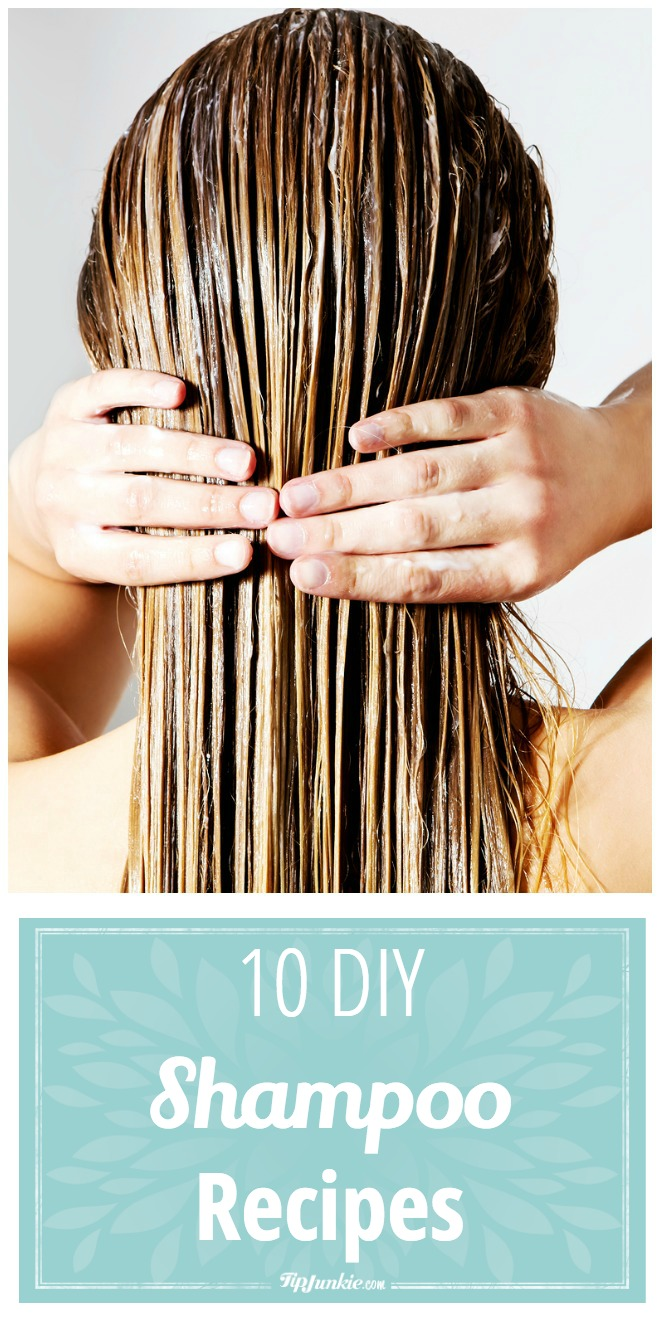 10 DIY shampoo recipes