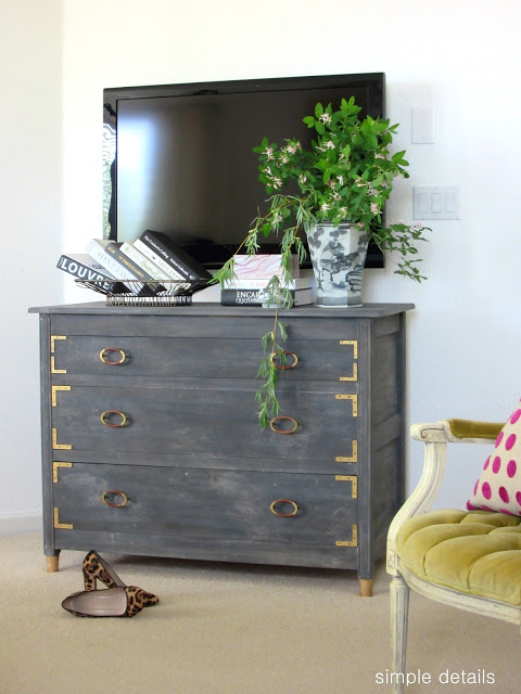 Anthropologie Inspired Dresser