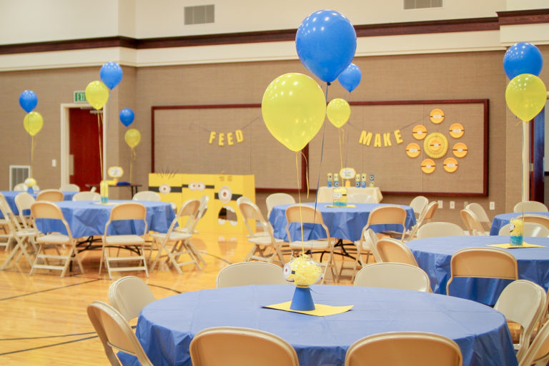 Blue and Gold Party Games