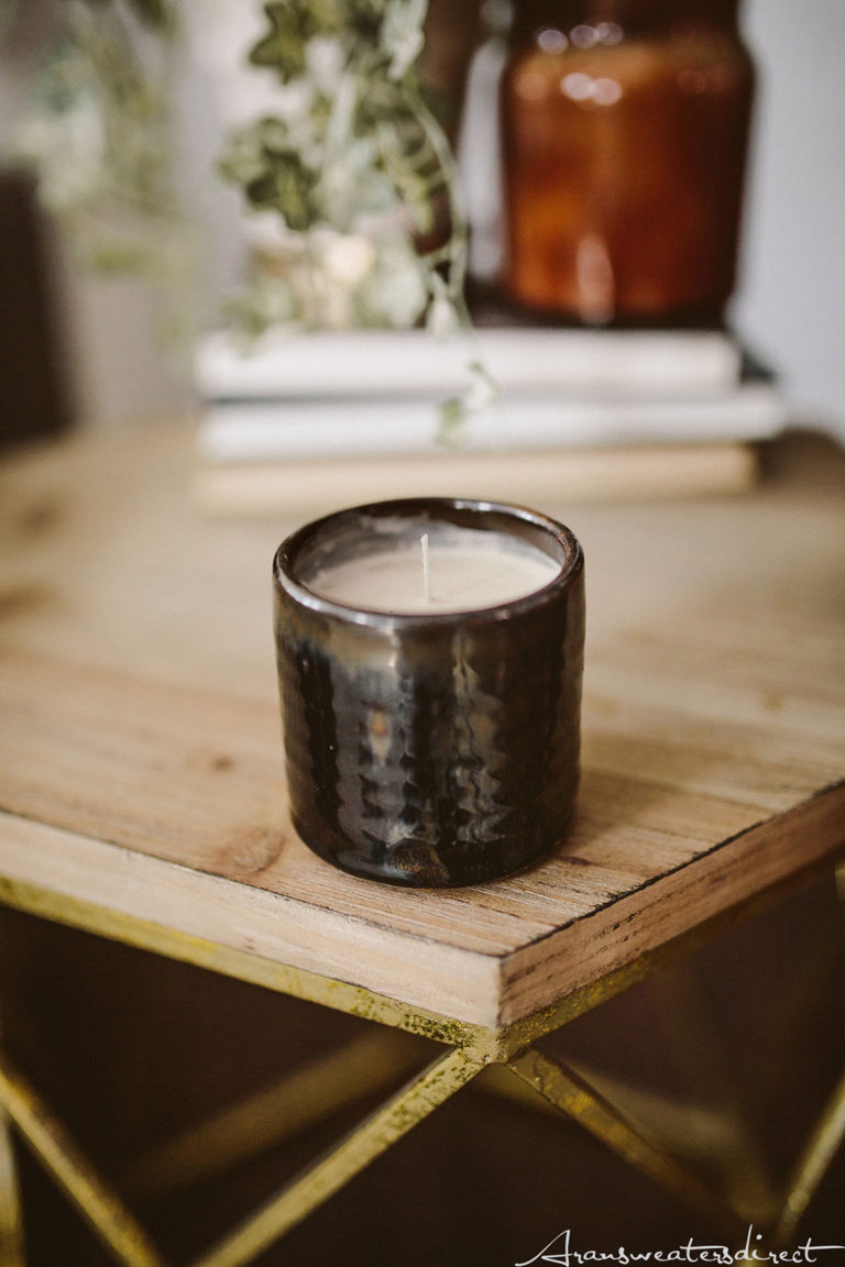 DIY Peppermint Mocha Candle