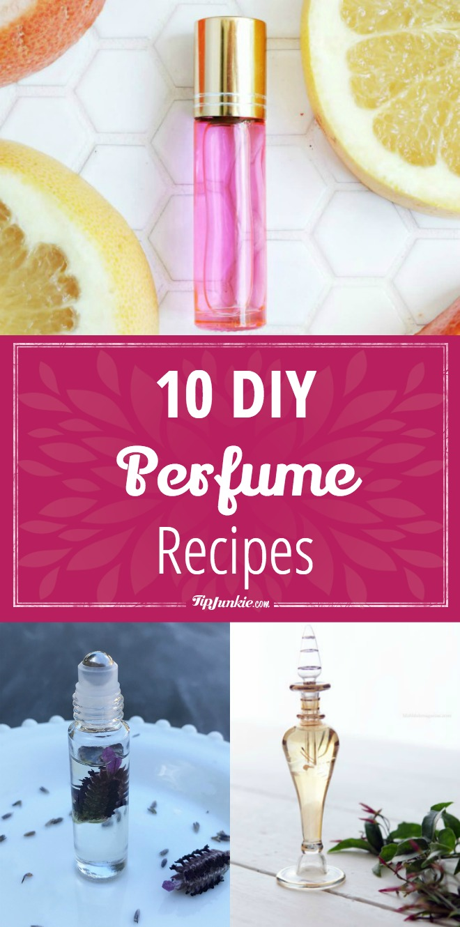 10 DIY Perfume Recipes