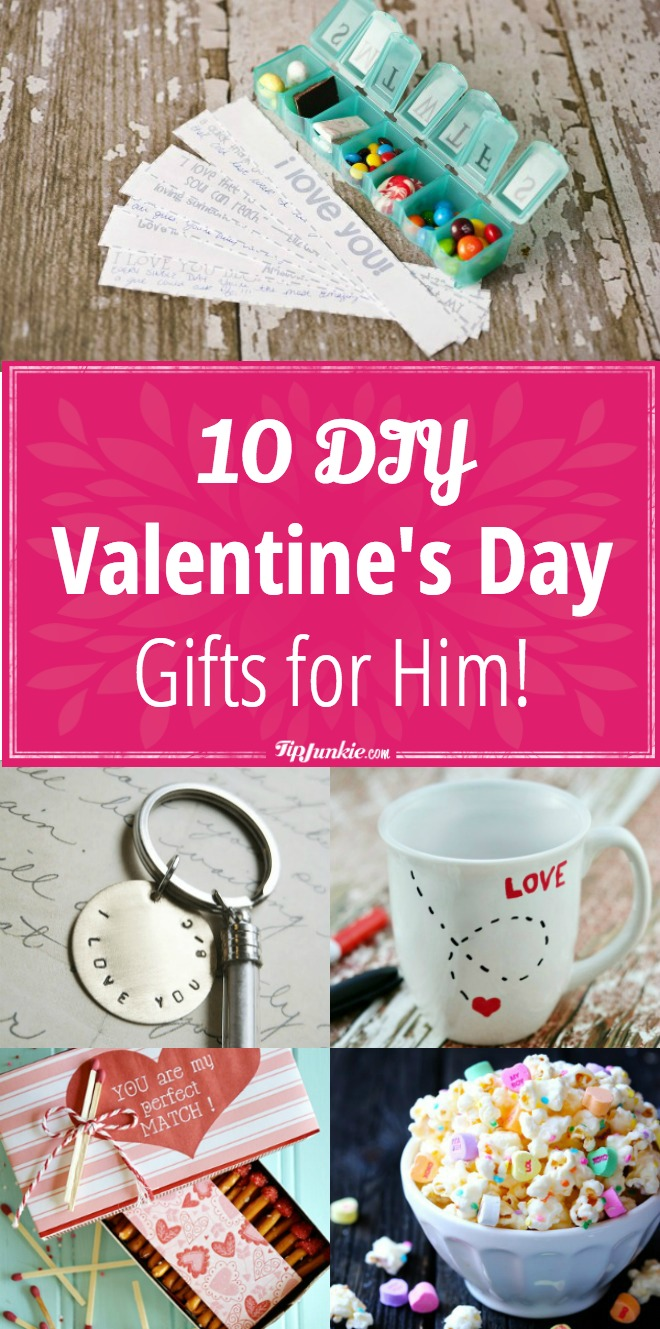 Valentine S Day Homemade Gifts For Him My Web Value