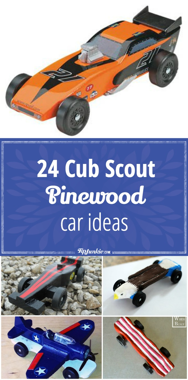 24 Cub Scout Pinewood Car Ideas