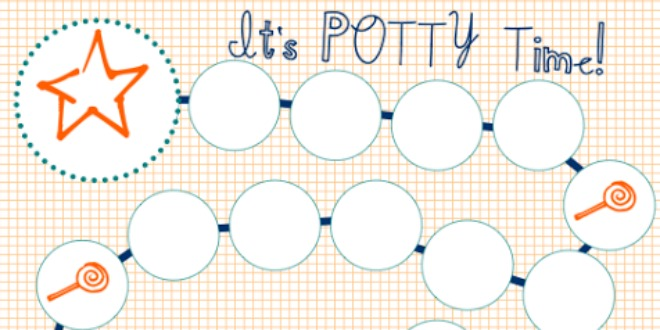 Free Potty Chart Printable  Tip Junkie