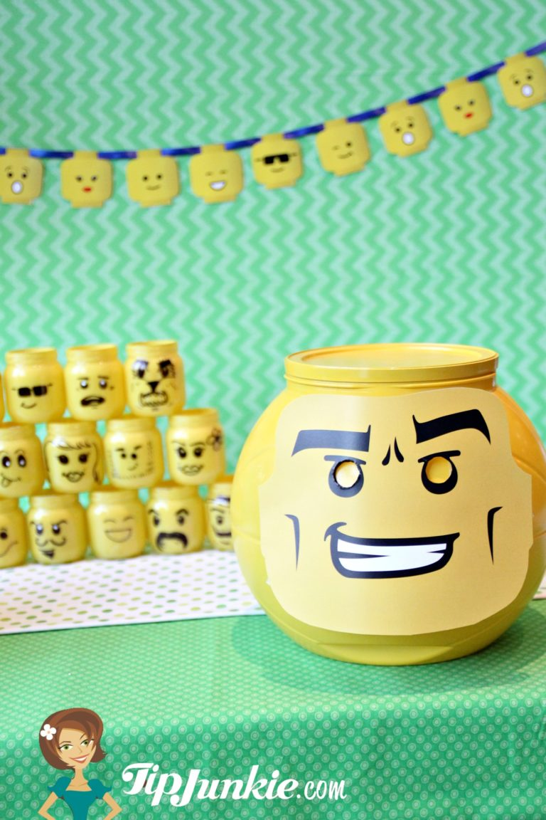 Lego Face Minifigures Decorations on TipJunkie