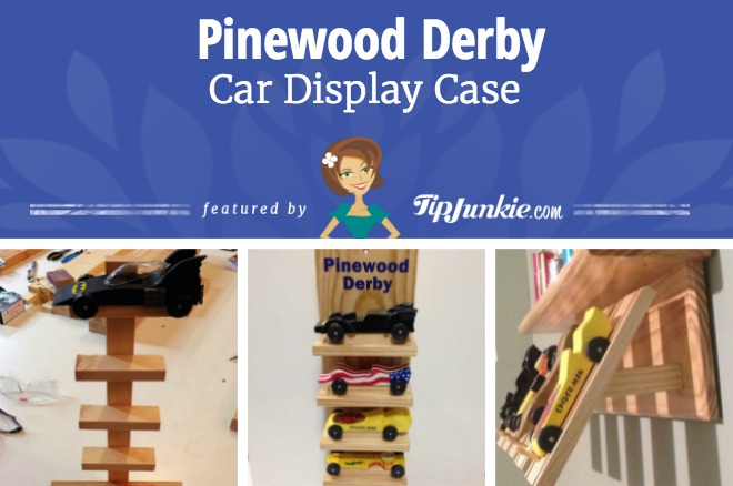 Pinewood Derby Car Display Case
