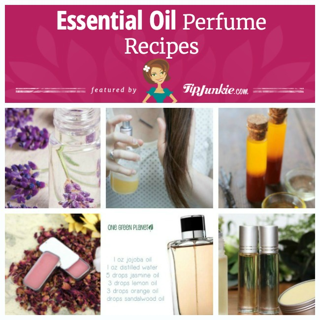Essential oil perfume recipe