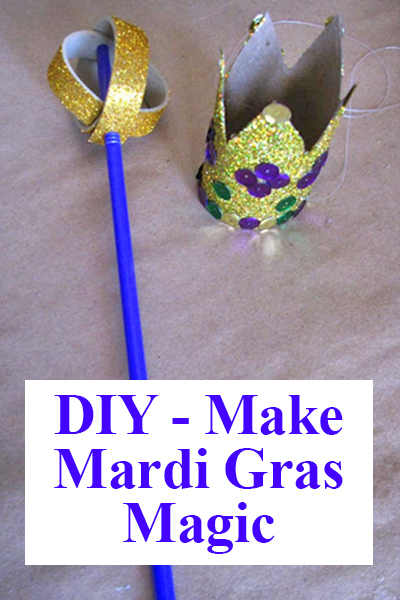 mardi gras magic wand