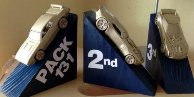 14 Pinewood Derby Trophies and Awards