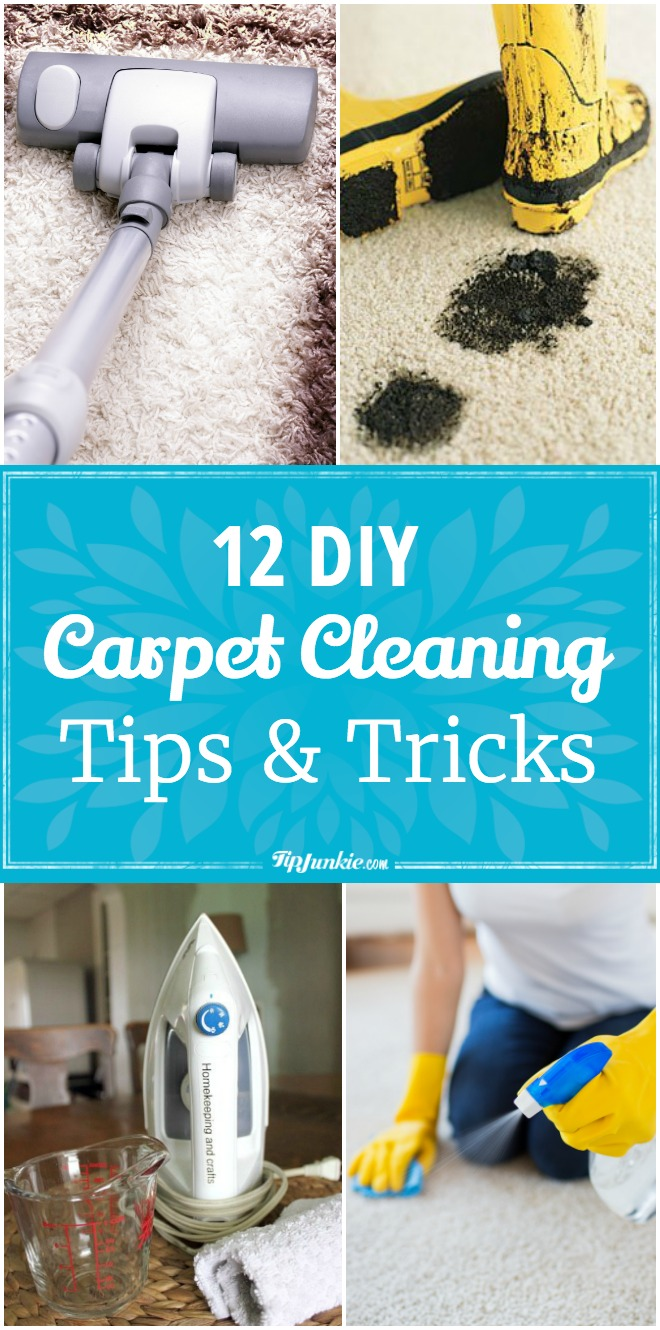 12 Diy Carpet Cleaning Tips Amp Tricks Tip Junkie