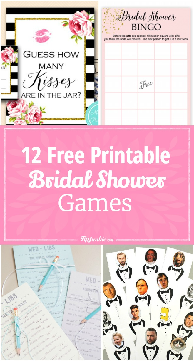 graphic relating to Emoji Bridal Shower Game Free Printable known as 12 Cost-free Printable Bridal Shower Video games Suggestion Junkie