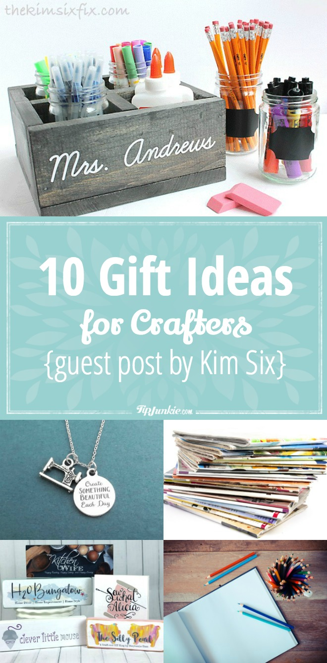 10 gift ideas for crafters
