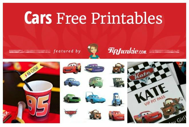 photograph regarding Disney Cars Birthday Invitations Printable Free called 32 Disney Vehicles Functions for Children [printable] Idea Junkie