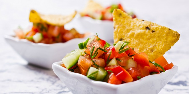 Mexican Homemade Salsa Recipe via @tipjunkie