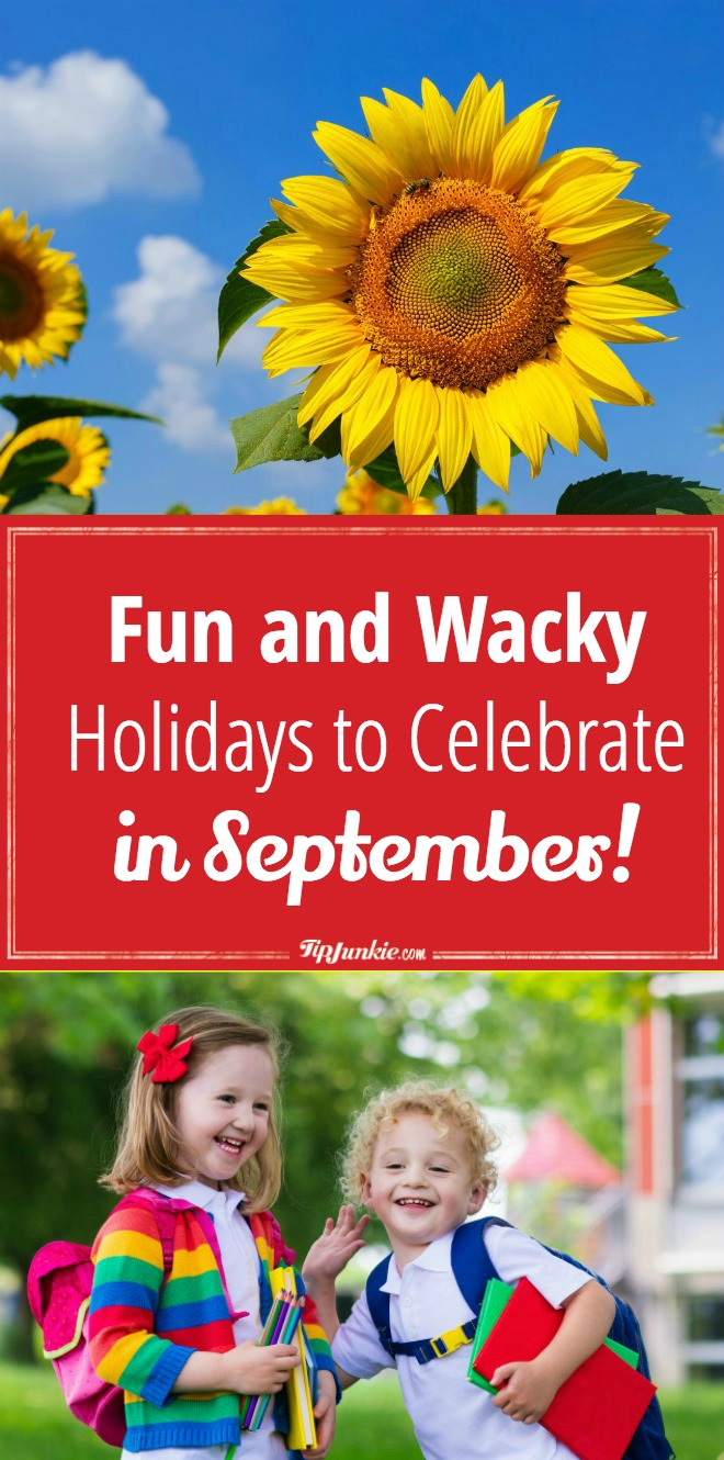 wacky holidays in september