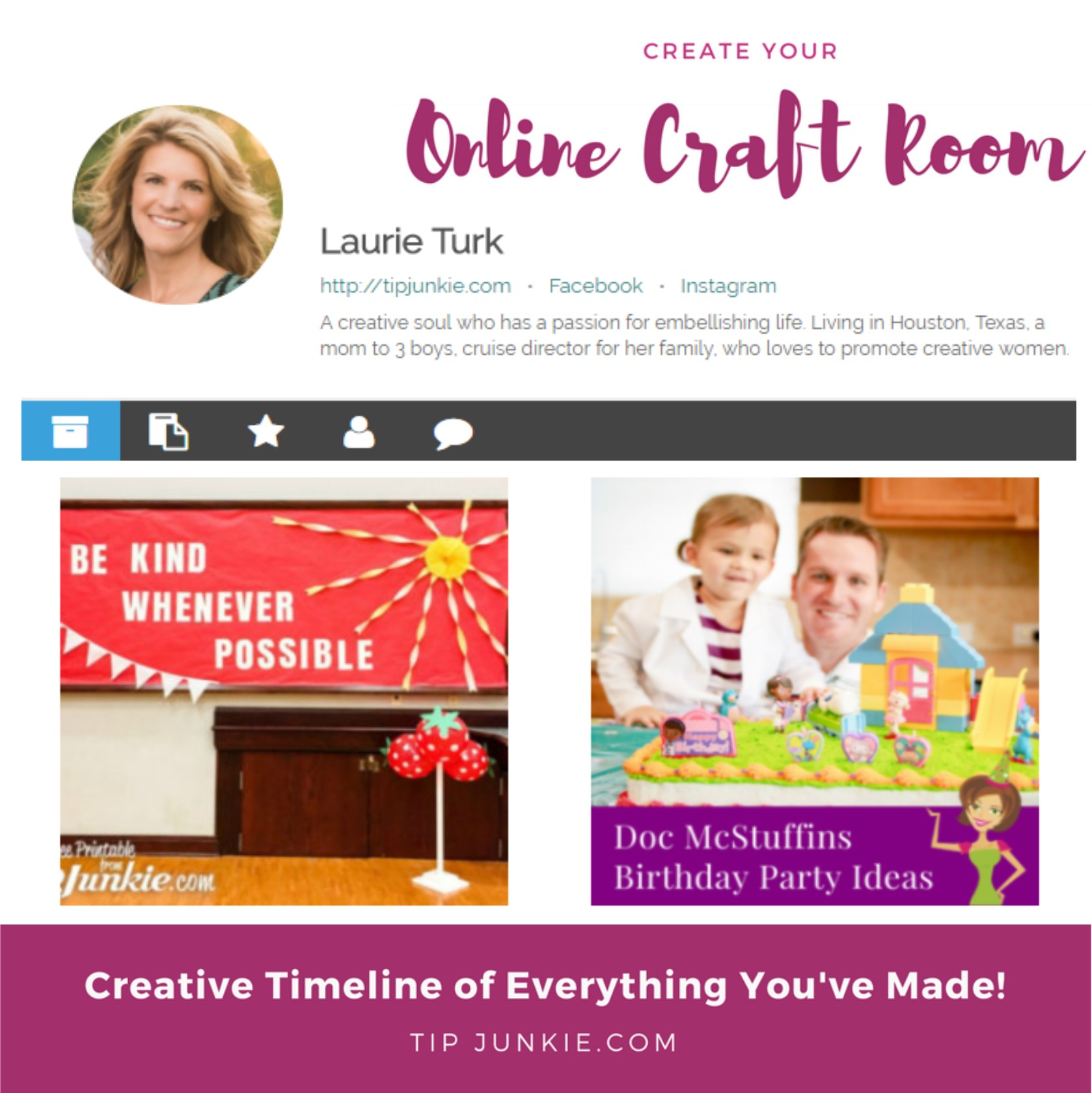 How to create a project in your online craft room tip - Design your room online ...