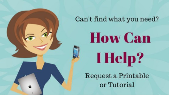 Request a Printable or Tutorial on Tip Junkie