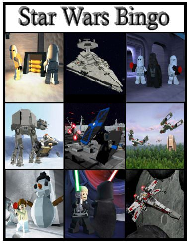 Star Wars Bingo