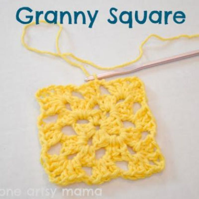 Granny Square Crochet Tutorial {Crochet Tutorials}