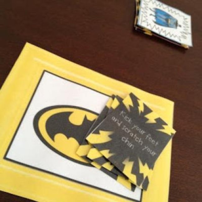 Batman and Spiderman Learning Activities {Printable Games}